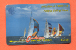 "ANTIGUA & BARBUDA: ANT-7B ""Sailing Week 1"" (1993) - Antigua And Barbuda"