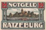 Billet - Notgeld Ratzeburg 50 PFG - [11] Local Banknote Issues