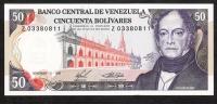 VENEZUELA P65b   50   BOLIVARES    3.11.1988    Serie Z    UNC - Venezuela
