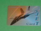 JET CARD - Flugzeuge