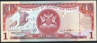 TRINIDAD & TOBAGO   : 1  Dollar - 2002 - P41 - UNC - Trindad & Tobago