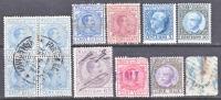 Italy  Revenue Lot 4  (o)  * - 1878-00 Umberto I