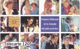 F528A - 120U - 12/94 - GEM1B - VOEUX FRANCE TELECOM - V1 Paquet Vert - Francia