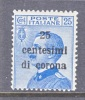 Italy  Venezia Giulia  N69  ** - 8. WW I Occupation