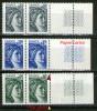 "Paires Guillochis GB-N° 1962**_1963**-papier ""carton""-1964**_plus Grand Tenant Normal - Varieties: 1970-79 Mint/hinged"