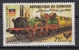 REPUBLIQUE DE DJIBOUTI  Mi.Nr. 440  Eisenbahn - Train - MNH - Eisenbahnen