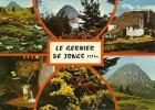 CPSM Du MONT GERBIER DE JONCS (07) : Source De La Loire - 6 Vues. - Sonstige Gemeinden