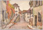 CPSM -  No 2263 - Le Mouret à Stavayer (Suisse) - Illustration A.Pierre - FR Fribourg
