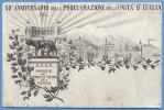 Cartolina   50° Anniversario Della Unita D´Italia. - Demonstrations