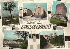^ SASSOFERRATO ANCONA ROCCA CHIESA PANORAMA VEDUTE SALUTI DA 144 - Ancona