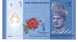 BANCONOTA 1 RINGGIT MALESYA FDS POLIMERO - Malasia