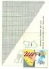 CALENDARIETTO---calendari Etto   Barbieri---  Cattani  Galafassi  LUINO    1956    SOLO  CARTINA  ITALIA  RARITA´ - Calendriers
