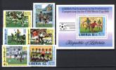 Liberia 1985 Y.T. 1015/20 + BF108 MNH VF - Liberia