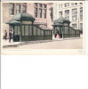 Subway Entrance And Exit Kiosks New York Postmark Times Square 1912 - New York City