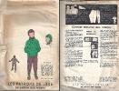 """Patron De Luxe """"Anorak, Pantalon Et Bonnet"""" Pour Enfant  De 5 à 7 Ans (6598)_L32 - Patrons"""