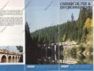 FERROVIAIRE / TRAIN / SNCF / Chemin De Fer Et Environnement / Brochure Publicitaire Sncf Tgv C.1980 - Transporto