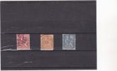FRANCE : Type Sage : O : Y&T: 116-117-118 - 1898-1900 Sage (Type III)