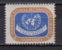 Paraguay 1959 UN United Nations, Dag Hammarskjöld Stamp MNH - VN