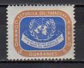 Paraguay 1959 UN United Nations, Dag Hammarskjöld Stamp MNH - UNO