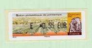 Vignette Lisa Du Salon De Printemps D´Epernay 2012 à 0,55 € - Vignettes D'affranchissement
