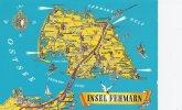Insel Fehmarn   Fehmarn Island Germany   B-914 - Landkarten