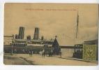 Nouvelle-Calédonie :  Café Des Docks Et Visite Douane Sur Le Quai  ( Steamship ) - Nouvelle-Calédonie