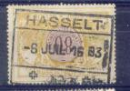 B821 -België  Spoorweg  Chemin De Fer  HASSELT - 1895-1913