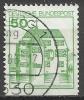 1980 Germania Federale - Usato / Used - N. Michel 1038 D Non Dentellato Sotto - [7] Repubblica Federale