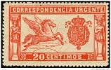 ES256-L2082TES.URGENTE .España.Spain.Espagne.PEG ASO.1905  .(Ed 256*) Con Charnela .LUJO - Sellos
