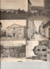 6 CP MONTCHAL PLACE EGLISESTE AGATHE DONZY VUE GENERALE CENTRE BOURG BUSSIERES MAIRIE ECOLE EGLISE RUE CENTRALE - Otros Municipios