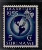 SURINAME  1955 Unused Hinged Stamp(s) Fair Nr. 323 - Surinam ... - 1975