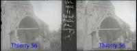 Largny (sur Automne) - Vez - Porche - Eglise  - 1904 -  Plaque De Verres Photos Négatives - Plaques De Verre