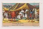 ### Chromo, Liebig, Invasions Des Maures, L'ambassade, Explication Au Verso - Liebig