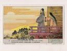 ### Chromo, Liebig, Histoire Du Japon, L'imperatrice Jingu Oriente Son Mari Vers L'ouest, Explication Au Verso - Liebig