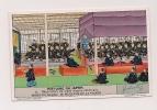 ### Chromo, Liebig, Histoire Du Japon,négociation Du Traité Nippon Americain, Explication Au Verso - Liebig