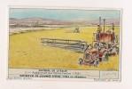 ### Chromo, Liebig, Histoire De L'Italie, Assechement Des Marais Pontins 1938 , Explication Au Verso - Liebig