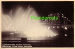 EXPOSITION DE BRUXELLES 1935 ** ILLUMINATION DES GRANDES FONTAINES ** VERLICHTING VAN DE GROOTE FONTEINEN - Expositions