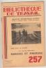 Bibliotheque De Travail N° 257 Barques Et Pirogues  8 Janvier 1954 - 12-18 Años
