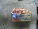 Pin´s Du Garage Philippe VIATTE 2540 GRENCHEN (Suisse). Concessionnaire VOLVO - Badges