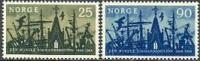 NOORWEGEN 1964 Zeemansmissie Serie PF-MNH-NEUF - Ungebraucht