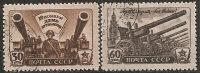 Russia 1945 Used - Yv. 1009/10  Mi. 997/98