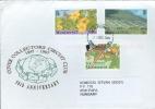 Montserrat Stamps On Cover - Plants