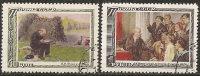 Russia 1950 Used - Yv. 1527/28  Mi. 1544/45