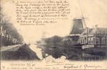 Groningen Año 1905 Postal Dirigia A Brasil Matasellos Groningen - Groningen