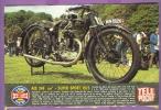 """Fiches Télé Poche """"La Grande Aventure Des 2 Roues"""" AJS 348 Cm3 Super Sport 1925 - Old Paper"""