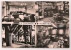NOIRETABLE (Loire) - LA CHAUMIÈRE - Son Cadre, Son Restaurant, Sa Cave, Parc. Tennis. Jeux - Format CPM - Dentelée - - Noiretable