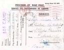 POW 1945 Cartolina Postale Da Prigioniero Di Guerra Italiano In Gran Bretagna Da 606 Camp Per San Pietro Clarenza - Seconda Guerra Mondiale