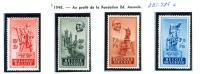 N° 781-784 XX - 1948 - Unused Stamps