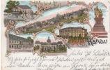 GRUSS AUSS HANAU 1898 - Hanau
