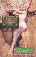 Télécarte Japon - Esthétique / Slim Beauty House - Bain De Boue Femme Girl / Italy - Japan Phonecard Parfum - Parfum